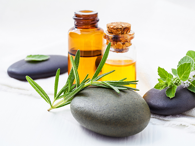 Rosemary Essential Oil and Raw Ingredients